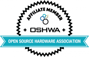 OSHWA Member Badge-Affiliate Member