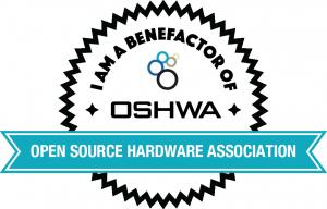 OSHWA Member Badge-Benefactor Member