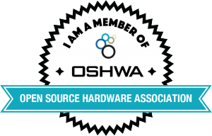 OSHWA Member Badge-General Member